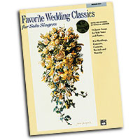 Patrick M. Liebergen : Favorite Wedding Classics for Solo Singers (Medium High Voice) : Solo : 01 Book & 1 CD :  : 038081188034  : 00-19900