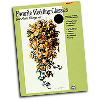 Patrick Liebergen : Favorite Wedding Classics for Solo Singers (Medium Low Voice) : Solo : Songbook & CD : 038081188065  : 00-19903
