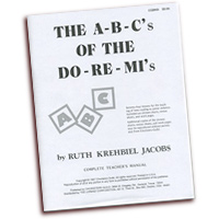 Ruth Krehbiel Jacobs : The ABC's of the DoReMi's : 01 Book :  : CGBK9