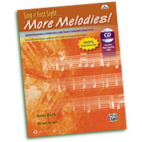 Andy Beck : Sing at First Sight ... More Melodies! : 01 Book & 1 CD : 038081469980  : 00-42793