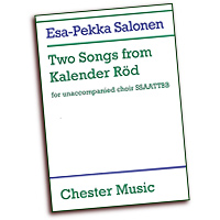 Esa-Pekka Salonen : Two Songs from Kalender Rod : SSAATTBB : 01 Songbook : 884088931889 : 0711998922 : 14028678