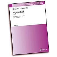 Kzysztof Penderecki : Agnus Dei : SATB divisi : 01 Songbook : 073999696318 : 49012101