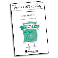 Emily Crocker : America, of Thee I Sing : 3 Parts : Sheet Music :  : 884088211226 : 08552019