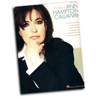 Ann Hampton Callaway : The Best Of : Solo : Songbook :  : 073999882377 : 0634080318 : 00306620