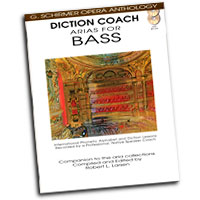 G. Schirmer Opera Anthology : Diction Coach - Arias for Bass : Solo : Songbook & CD : 884088082680 : 1423413121 : 50486260