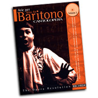 Various Composers : Cantolopera - Arias For Baritone Vol. 2 : Solo : Songbook & CD : 073999846072 : 0634043943 : 50484607