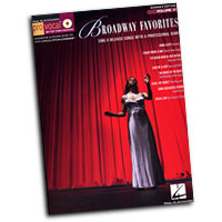 Pro Vocal : Broadway Favorites - Women's Edition : Solo : Songbook & CD : 884088279363 : 1423465482 : 00740415