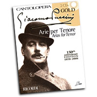 Giacomo Puccini : Arias For Tenor : Solo : Songbook & 2 CDs : 884088413361 : 50486995