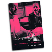 Paul Barker : Composing for Voice : Solo : 01 Book : Paul Barker : 0415941873