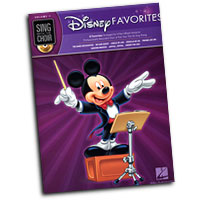Various Composers : Disney Favorites : Solo : Songbook & CD : 884088243289 : 1423439864 : 00333007
