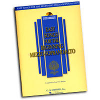Joan Frey Boytim : Easy Songs for the Beginning Mezzo-Soprano / Alto : Solo : Songbook & CD :  : 073999837575 : 0634019708 : 50483757