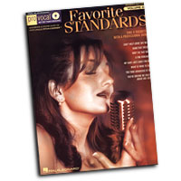 Pro Vocal : Favorite Standards - Women's Edition : Solo : Songbook & CD : 884088279394 : 1423465512 : 00740418