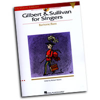 The Vocal Library : Gilbert and Sullivan for Singers - Baritone / Bass : Solo : Songbook & CD : 073999557442 : 0634060163 : 00740217