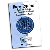 Close Harmony For Men : Happy Together - 4 Charts and Parts CD : TTBB : Sheet Music & Parts CD :  : 884088138721 : 08746919