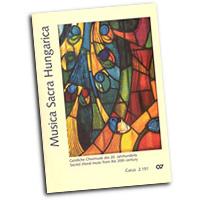 Various Arrangers : Musica Sacra Hungarica : SATB : 01 Songbook : 912-01784