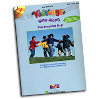 Kids Songs : Now Everybody Sing! : 01 Songbook & 1 CD : 073999557633 : 0634036947 : 00316079