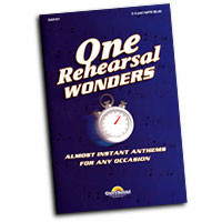 Various Arrangers : One Rehearsal Wonders : SATB : 01 Songbook :  : 747510178545 : 1592351565 : 35016264