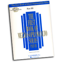 Joan Frey Boytim : The First Book Of Mezzo-Soprano / Alto Solos Part III : Solo : Songbook & CD :  : 073999968699 : 0634098683 : 50485889