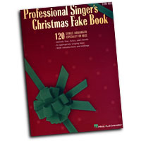 Various Arrangers : Professional Singers Christmas Fake Book - Low Voice : Solo : Songbook : 00240095