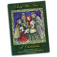 Walter Michalak : Sing We Now of Christmas - Alto : Solo : 01 Songbook & Parts CD :