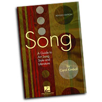 Carol Kimball : Song - A Guide to Art Song Style and Literature : Solo : 01 Book :  : 884088078256 : 142341280X : 00331422