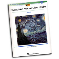 The Vocal Library : Standard Vocal Literature - Tenor : Solo : Songbook & CD : 073999402742 : 0634078755 : 00740274