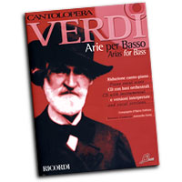 Giussepi Verdi : Cantolopera - Arias for Bass : Solo : Songbook & CD : 884088282325 : 50486840