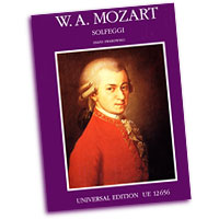 Wolfgang Amadeus Mozart : Solfeggios and Vocal Exercises : Solo : Vocal Warm Up Exercises : Wolfgang Amadeus Mozart : UEO12656