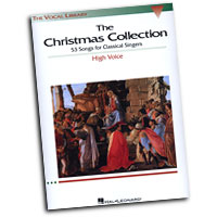 Richard Walters (Editor) : The Vocal Library - The Christmas Collection: High Voice : Solo : Songbook :  : 073999549751 : 0634030701 : 00740153