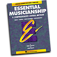 Emily Crocker / John Leavitt : Essential Musicianship - Level One Teacher Edition : SATB : 01 Songbook : Emily Crocker : 073999401035 : 0793543320 : 08740103