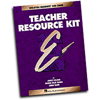 Debbie Daniel / Janice Killian / Linda Rann : Essential Elements for Choir Teacher Resource Kit : SATB : 01 Book & 1 CD :  : 073999883206 : 0634007343 : 00866120