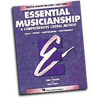 Emily Crocker / John Leavitt : Essential Musicianship - Level Three Teacher Edition : SATB : 01 Songbook : Emily Crocker : 073999401073 : 0793543541 : 08740107