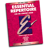 Bobbie Douglass / Brad White / Glenda Casey / Jan Juneau : Essential Repertoire for the Concert Choir - Level 3 Treble, Teacher : Treble : 01 Songbook :  : 073999401202 : 0793543509 : 08740120