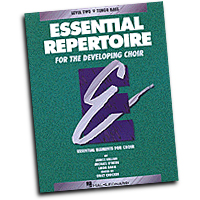Emily Crocker (editor) : Essential Repertoire for the Developing Choir - Tenor Bass/Student  : TTBB : 01 Songbook : 073999401158 : 0793543436 : 08740115