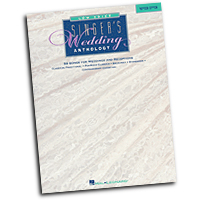 Various Composers : Singer's Wedding Anthology - Low Voice : Solo : Songbook : 073999735963 : 0793540968 : 00740008