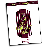 Joan Frey Boytim : The First Book of Baritone/Bass Solos : Solo : 01 Songbook :  : 073999811766 : 0793503671 : 50481176
