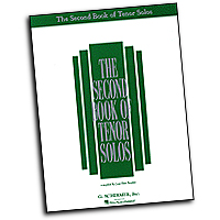 Joan Frey Boytim : The Second Book of Tenor Solos : Solo : 01 Songbook :  : 073999820706 : 0793538017 : 50482070
