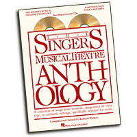 Richard Walters (editor) : The Singer's Musical Theatre Anthology - Teen's Edition : Solo : 2 CDs :  : 884088492755 : 1423476824 : 00230054