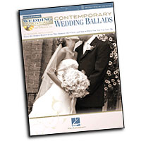 Various Arrangers : Contemporary Wedding Ballads : Solo : Songbook & CD : 884088463946 : 1423488628 : 00311942