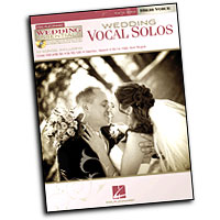 Various Arrangers : Wedding Vocal Solos : Solo : Songbook & CD : 884088463977 : 00311945