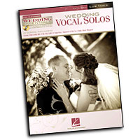 Various Arrangers : Wedding Vocal Solos : Solo : Songbook & CD : 884088463991 : 00311946