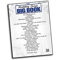 Various Arrangers : The Wedding Songs Big Book : Solo : Songbook :  : 884088685966 : 0739047663 : 00322086