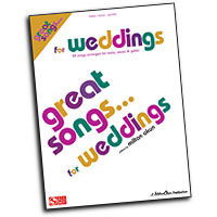 Various Arrangers : Great Songs for Weddings : Solo : Songbook : 884088140717 : 1575609568 : 02501006