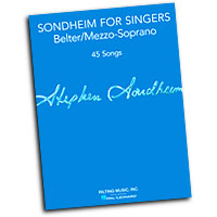 Richard Walters (editor) : Sondheim for Singers : Solo : Songbook : 884088964238 : 148036715X : 00124180