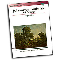 Johannes Brahms : 75 Songs : Solo : Songbook : Johannes Brahms : 073999215953 : 0793546257 : 00740013