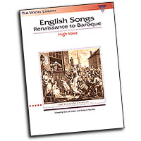 Steven Stolen (editor) : English Songs: Renaissance to Baroque : Solo : Songbook : 073999534740 : 079354632X : 00740018