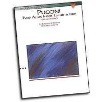 Giacomo Puccini : Two Arias from La Rondine : Solo : Songbook : Giacomo Puccini : 073999470291 : 0793515718 : 00747029