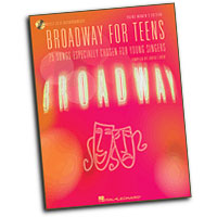 Various Artists : Broadway for Teens : Solo : Songbook & CD : 073999378375 : 1423401190 : 00000402