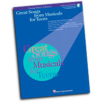 Louise Lerch (editor) : Great Songs from Musicals for Teens : Solo : Songbook & CD : 073999076448 : 0634031473 : 00740165