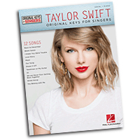 Taylor Swift : Original Keys for Singers : Solo : Songbook : 888680050320 : 1495012670 : 00142702